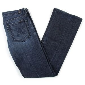 7 For All Mankind A Pocket Jeans Sz 27 (28 x 31)